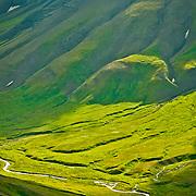 North America, United States, US, Northwest, Pacific Northwest, West, Alaska, Katmai, Katmai National Park, Katmai NP. Above Katmai National Park, Alaska.