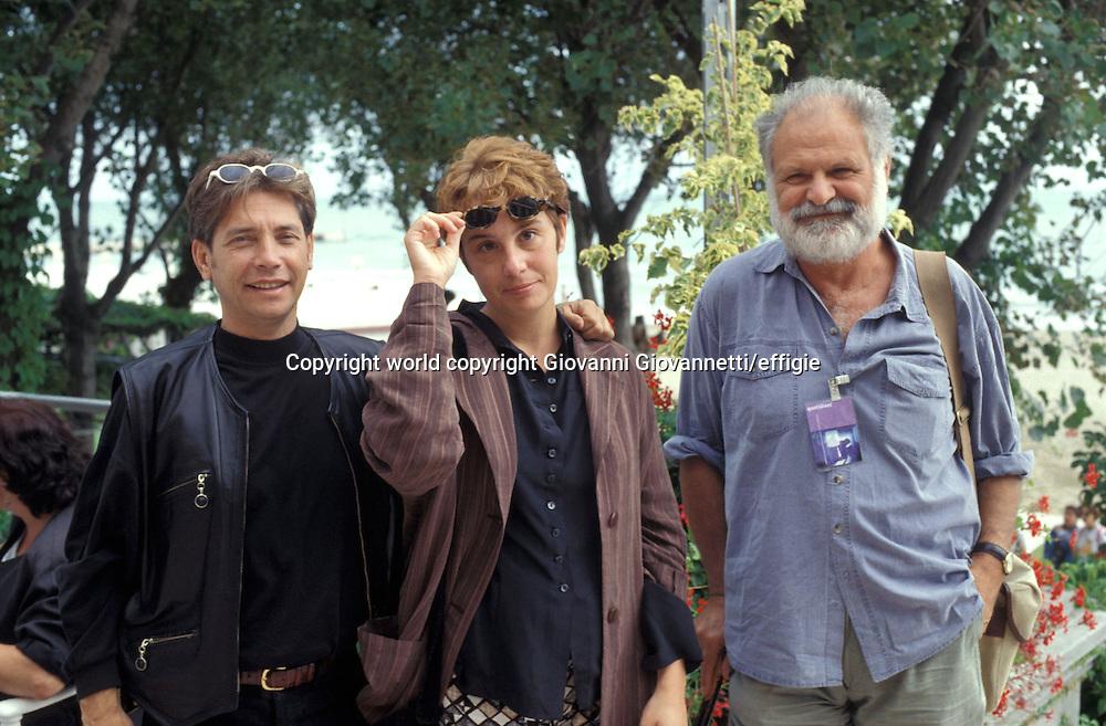 Nino D'Angelo, Roberta Torre e Goffredo Fofi<br />world copyright Giovanni Giovannetti/effigie / Writer Pictures<br /> <br /> NO ITALY, NO AGENCY SALES / Writer Pictures<br /> <br /> NO ITALY, NO AGENCY SALES