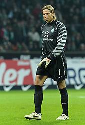 13.11.2010, Weserstadion, Bremen, GER, 1. FBL, Werder Bremen vs Eintracht Frankfurt, im Bild Tim Wiese (Bremen #1)   EXPA Pictures © 2010, PhotoCredit: EXPA/ nph/  Frisch+++++ ATTENTION - OUT OF GER +++++