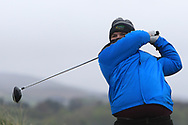 Christopher Rabbette (Esker Hills) on the 6th tee during Round 3 of the Ulster Boys Championship at Donegal Golf Club, Murvagh, Donegal, Co Donegal on Friday 26th April 2019.<br /> Picture:  Thos Caffrey / www.golffile.ie