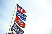 May 19, 2012: NASCAR Sprint All-Star Race, American flag , Jamey Price / Getty Images 2012 (NOT AVAILABLE FOR EDITORIAL OR COMMERCIAL USE