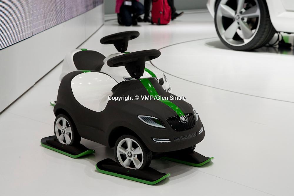 Skoda Scale Models, Geneva Motor Show 2011
