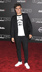 December 10, 2016 - Los Angeles, California, United States - December 10th 2016 - Los Angeles California USA - Actor JORGE BLANCO    at the World Premiere for ''Rogue One Star Wars'' held at the Pantages Theater, Hollywood, Los Angeles  CA (Credit Image: © Paul Fenton via ZUMA Wire)