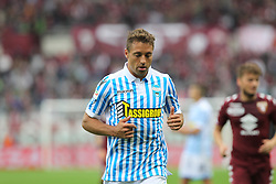 May 13, 2018 - Turin, Piedmont, Italy - Thiago Cionek of S.P.A.L. during the Serie A football match between Torino FC and S.P.A.L. at Olympic Grande Torino Stadium on May 13, 2018 in Turin, Italy. (Credit Image: © Massimiliano Ferraro/NurPhoto via ZUMA Press)
