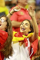 Spain's supporter during FIFA World Cup 2018 Qualifying Round match. October 6,2017.(ALTERPHOTOS/Acero)