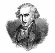James Watt, Scottish engineer and inventor.   Watt (1736-1819) made great improvements in the steam engine, one of the most significant being the separate condenser.  In 1774 he went into partnership with Matthew Boulton (1728-1809) the Birmingham manufacturer and entrepreneur. From 'A  Popular History of Science' by Robert Routledge. (London, 1881).  Engraving.
