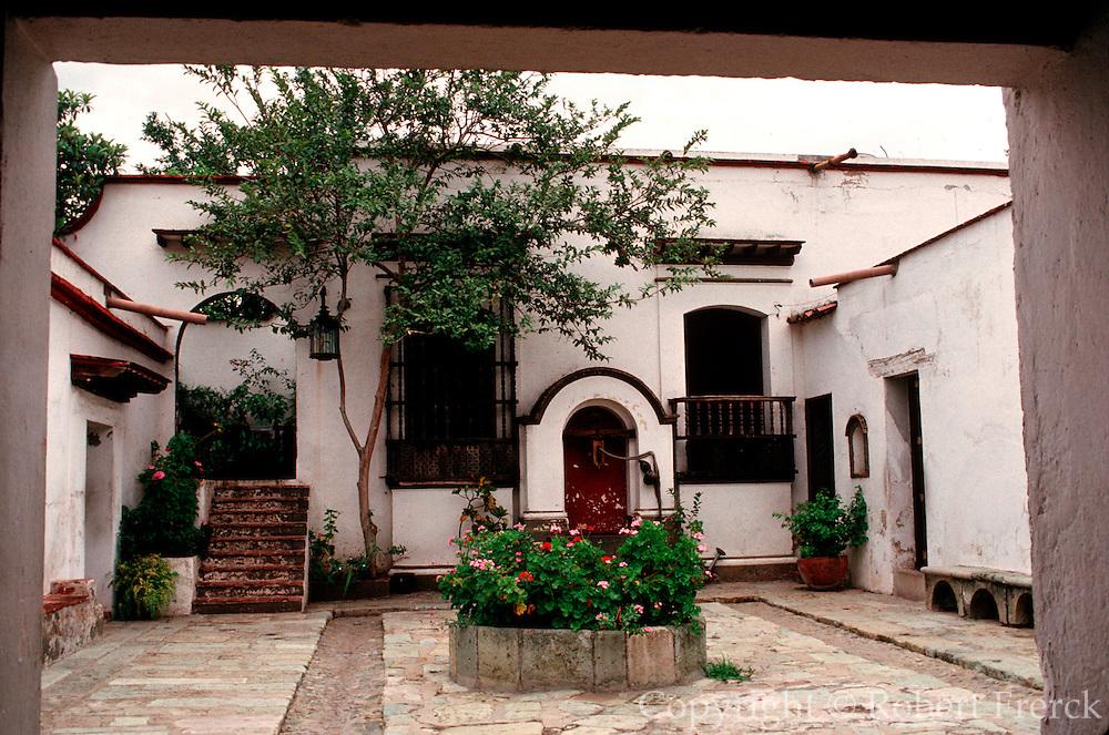 MEXICO, COLONIAL CITIES Oaxaca; President Benito Juarez home