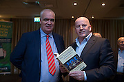 NO FEE PICTURES<br /> 20/1/16  Noel Whelan with Sean Gallagher at the launch of his book, The Tallyman's Campaign Handbook at the Alexander Hotel in Dublin. Picture: Arthur Carron
