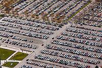Parking lots at Utah Valley University