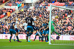 26 December 2017 -  Premier League - Tottenham Hotspur v Southampton - Harry Kane of Tottenham Hotspur scores the opening goal, breaking Alan Shearer's record for the most Premier League goals scored in a calendar year - Photo: Marc Atkins/Offside