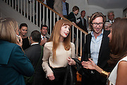 HAILEY WIDRIG, Dinner to celebrate the opening of Pace London at  members club 6 Burlington Gdns. The dinner followed the Private View of the exhibition Rothko/Sugimoto: Dark Paintings and Seascapes.