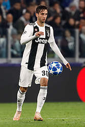 November 7, 2018 - Turin, Italy - Rodrigo Bentancur of Juventus in action during the Group H match of the UEFA Champions League between Juventus FC and Manchester United FC on November 7, 2018 at Juventus Stadium in Turin, Italy. (Credit Image: © Mike Kireev/NurPhoto via ZUMA Press)