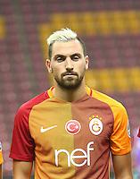 Turkey superlig match between Galatasaray and Kardemir Karabukspor at Turk Telekom Arena in Istanbul , Turkey , August 22  ,2016.<br />Final Score : Galatasaray 1 - Kardemir Karabukspor 0<br />Pictured: Sinan Gumus of Galatasaray.