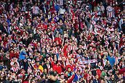 Atletico de Madrid supporters