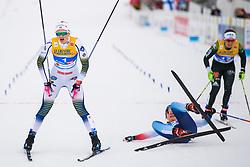 February 21, 2019 - Seefeld In Tirol, AUSTRIA - 190221 Maja Dahlqvist of Sweden after competing in women's cross-country skiing sprint semi final during the FIS Nordic World Ski Championships on February 21, 2019 in Seefeld in Tirol..Photo: Joel Marklund / BILDBYRN / kod JM / 87879 (Credit Image: © Joel Marklund/Bildbyran via ZUMA Press)