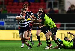 Andy Uren of Bristol Rugby makes a break  - Mandatory by-line: Alex Davidson/JMP - 08/12/2017 - RUGBY - Ashton Gate Stadium - Bristol, England - Bristol Rugby v Leinster 'A' - B&I Cup