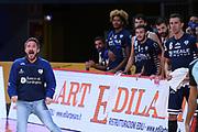 Gianmarco Pozzecco<br /> Carpegna Prosciutto VL Pesaro - Banco di Sardegna Dinamo Sassari<br /> Legabasket Serie A UnipolSAI 2020/2021<br /> Pesaro, 27/09/2020<br /> Foto M.Ceretti / Ciamillo-Castoria