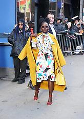 Lupita Nyong'o in stunning colour at Good Morning America - 20 March 2019