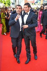May 25, 2017 - Cannes, Provence-Alpes-Cote-D-Azur, France - Arnaud Lagardere et David Lisnard sur le tapis rouge pour la projection du film THE BEGUILED / LES PROIES lors du soixante-dixième (70ème) Festival du Film à Cannes, Palais des Festivals et des Congres, Cannes, Sud de la France, mercredi 24 mai 2017. Philippe FARJON / VISUAL Press Agency (Credit Image: © Visual via ZUMA Press)
