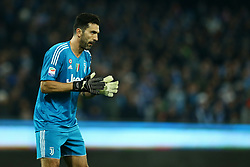 December 1, 2017 - Naples, Italy - Gianluigi Buffon of Juventus during the Serie A match between SSC Napoli and Juventus at Stadio San Paolo on December 1, 2017 in Naples, Italy. (Credit Image: © Matteo Ciambelli/NurPhoto via ZUMA Press)