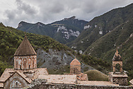 Dadivank, built between the 9th and 13th centuries, is an Armenian monastery in the Shahumian Region of the Nagorno-Karabakh Republic.