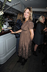 LAURA EWING sister of Kirsty Young at a party to celebrate the launch of the Cowshed range of cosmetics in aid of the charity Hope & Homes for Children, held at 15-17 Old Compton Street, London on 19th November 2008.