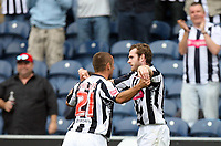 Photo: Rich Eaton.<br /> <br /> West Bromwich Albion v Barnsley. Coca Cola Championship. 01/09/2007. West Bromwich Albion's Craig Beattie (r) scores Albion's second goal of the game and celebrates with Kevin Phillips.