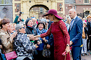 Queen Maxima opens the traveling exhibition 'Ten Tops on Tour', The Hague 04-10-2017