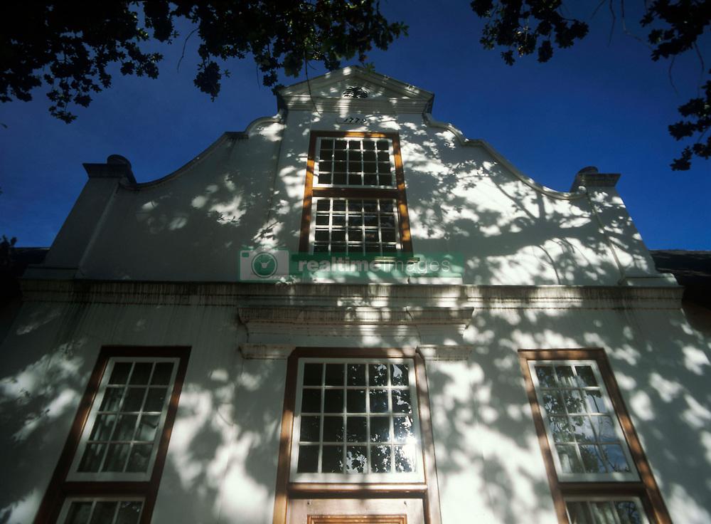 Low angle view of 18th century Dutch colonial house (Credit Image: © Axiom/ZUMApress.com)