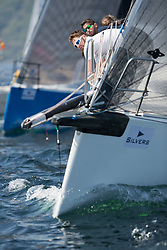 Silvers Marine Scottish Series 2017<br /> Tarbert Loch Fyne - Sailing<br /> <br /> `GBR7667R, Now or Never 3, Neil Sandford, Fairlie YC, Mat 1010<br /> <br /> Credit Marc Turner / PFM