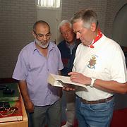 Huizerdag 2002, Open dag marokkaanse moske, gebedsruimte, uitleg, koran lezen