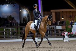 Everars Liezel, BEL, FS Capelli De Niro<br /> Belgisch Kampioenschap Dressuur<br /> Azelhof - Lier 2020<br /> © Hippo Foto - Dirk Caremans<br /> 02/10/2020