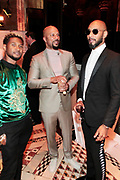 New York, New York- June 6: (L-R) Recording Artists Usher, Common and Producer Swiss Beatz attend the 2017 Gordon Parks Foundation Awards Dinner celebrating the Arts & Humanitarianism held at Cipriani 42nd Street on June 6, 2017 in New York City.   (Photo by Terrence Jennings/terrencejennings.com)