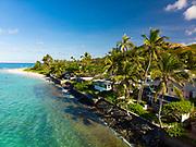 Lanikai Beach, Mokulua Islands, Kailua, Oahu, Hawaii