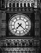 Big Ben – wieża zegarowa Elizabeth Tower w Londynie