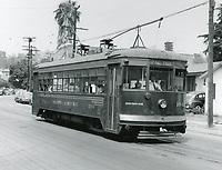 1945 Streetcar in Hollywood