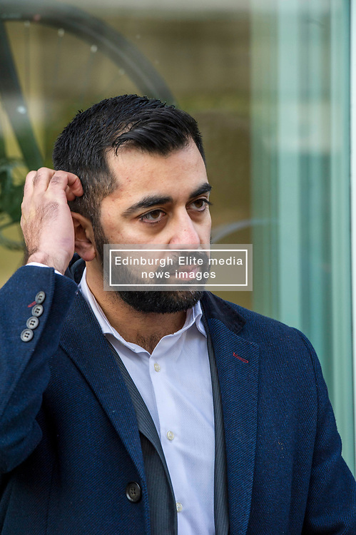 Pictured: Humza Yousef<br /> Transport minister Humza Yousaf MSP opened Falkirk's active travel hub. The resource will encourage people to make healthier, greener travel choices. <br /> <br /> <br /> Ger Harley   EEm 6 February 2018