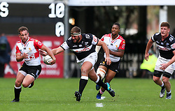 Durban. 201018. Nic Groom of the Xerox Golden Lions during the Currie Cup, Semi Final match between Cell C Sharks and Xerox Golden Lions at Jonsson Kings Park in Durban, South Africa. Picture Leon Lestrade. African News Agency. ( ANA )
