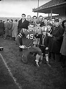 American Football at Croke Park - Burtonwood Bullets vs. Wethersfield Raiders.21/11/1953