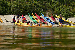 Returning From Kayaking