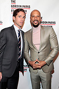 New York, New York- June 6: (L-R) Peter Kunhardt, Executive Director, The Gordon Parks Foundation and  Recording Artist/Actor Common attend the 2017 Gordon Parks Foundation Awards Dinner celebrating the Arts & Humanitarianism held at Cipriani 42nd Street on June 6, 2017 in New York City.   (Photo by Terrence Jennings/terrencejennings.com)