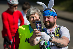 2019-04-19 Theresa May at Maidenhead Easter 10 race