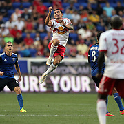 Tim Cahill, New York Red Bulls, in action during the New York Red Bulls Vs San Jose Earthquakes, Major League Soccer regular season match at Red Bull Arena, Harrison, New Jersey. USA. 19th July 2014. Photo Tim Clayton