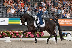 Cornelissen Adelinde, NED, Aqiedo<br /> Nederlands Kampioenschap Dressuur <br /> Ermelo 2018<br /> © Hippo Foto - Dirk Caremans<br /> 28/07/2018
