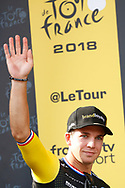 Podium, Dylan Groenewegen (NED - Team LottoNL - Jumbo) winner, during the 105th Tour de France 2018, Stage 7, Fougeres - Chartres (231km) on July 13th, 2018 - Photo Luca Bettini / BettiniPhoto / ProSportsImages / DPPI