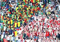 tifosi senegal e tifosi polonia<br /> Moscow 19-06-2018 Football FIFA World Cup Russia  2018 <br /> Poland - Senegal / Polonia - Senegal <br /> Foto Matteo Ciambelli/Insidefoto