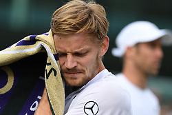 July 1, 2019 - Londres, Grande Bretagne, GB - TENNIS : Wimbledon 2019 - Goffin - Belgique (Credit Image: © Panoramic via ZUMA Press)
