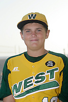26 September 2011:  #13 Dylan Palmer 2011 Little League Baseball World Series Championship team portrait northside of the Huntington Beach Pier at sunset in Southern California.  Ocean View team WEST beat Hamamtsu City, Japan, 2-1, to become the seventh team from California to win the title on August 28, 2011 in South Williamsport, PA.