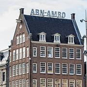 NLD/Amsterdam/20160617 - Kantoor van de vestiging ABN-AMRO op de Dam in Amsterdam,