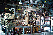 The John Price Soft-Mud Press was originally used at the John Price Brickyard from 1912 until 1962. It is identified as the most historically significant piece of machinery in the Evergreen Brick Works due to its age, the process it represents and its association with a famous brick manufacturing firm.